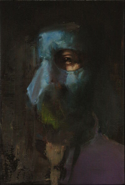 Mozes Incze, 'Masked (Recombination)', 2019