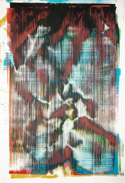 Sergio Barrera, 'Antigesture (rhizomes). P6', 2018