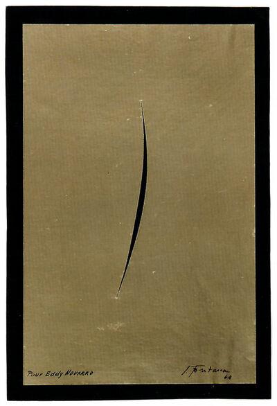 Lucio Fontana, 'Untitled', 1964