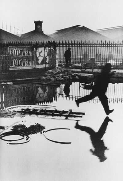 Henri Cartier-Bresson, 'Behind the Gare Saint Lazare'