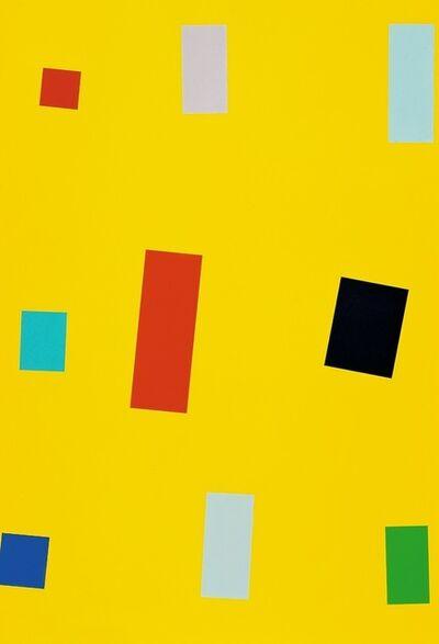 Imi Knoebel, 'Gelbe Fahne', 1990-2000