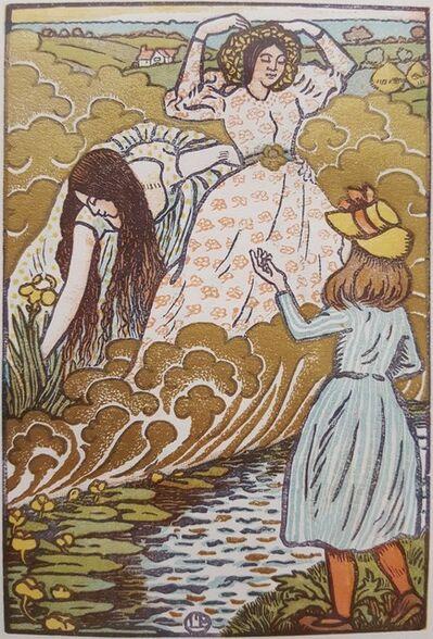 Lucien Pissarro, 'In The Field', 1894