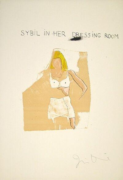 Jim Dine, 'Dorian Gray, Sybil', 1968