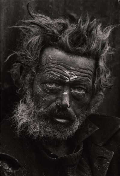 Don McCullin, 'Tormented, Homeless Irishman, Spitalfields, London, UK', 1969