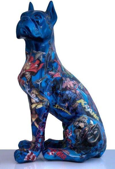 Natalie Laudon, '(GVA) Blue Boxer '