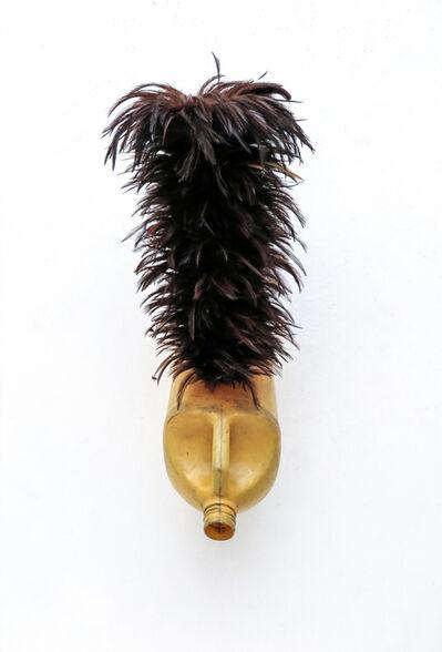 Romuald Hazoumè, 'Cheveux de feu', 2015