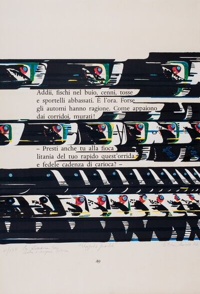 Titina Maselli, 'Reading Montale', 1978