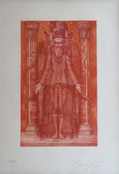 Ernst Fuchs, 'KABBALAH - 32 PATHS TO WISDOM #1', 1978