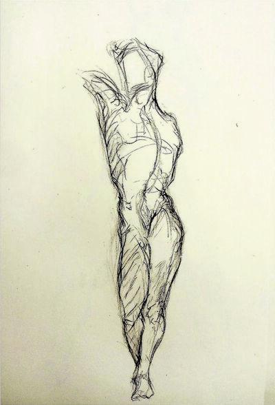 Alfred R Kelman, 'Male Torso - Class Exercise ', N/A