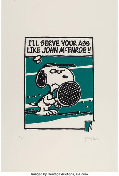 Mark Drew, 'John McEnroe (House of Pain) (Green)', 2018