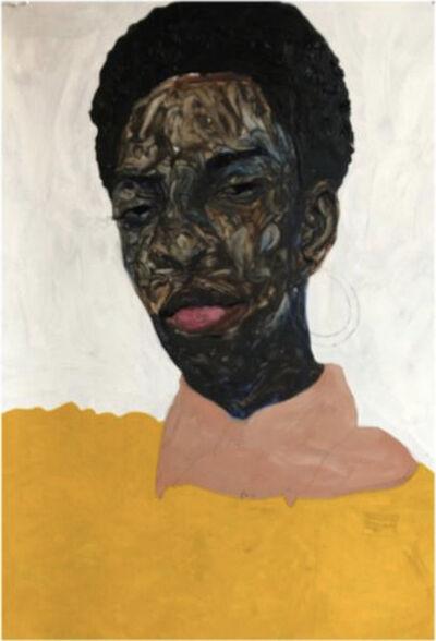 Amoako Boafo, 'yellowpullover', 2019