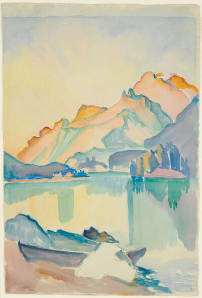 Clara Porges, 'Seelandschaft', not dated