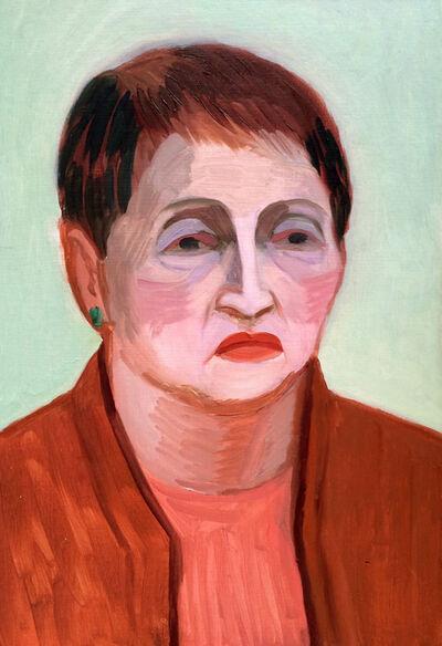 Anna Lukashevsky, 'Head of a Woman No. 5', 2016