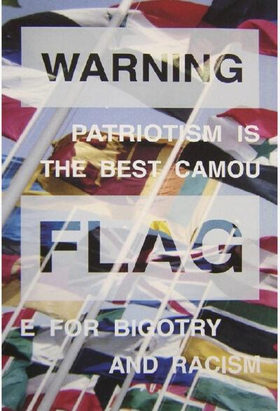 Rogelio Lopez Cuenca, 'Warning Flag', 1992