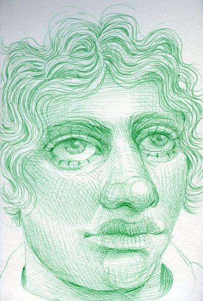 Rebecca Morgan, 'Green Man After Sculpture', 2016