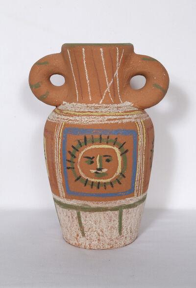 Pablo Picasso, 'Vase avec decoration pastel (Vase with Pastel Decorations)', 1953
