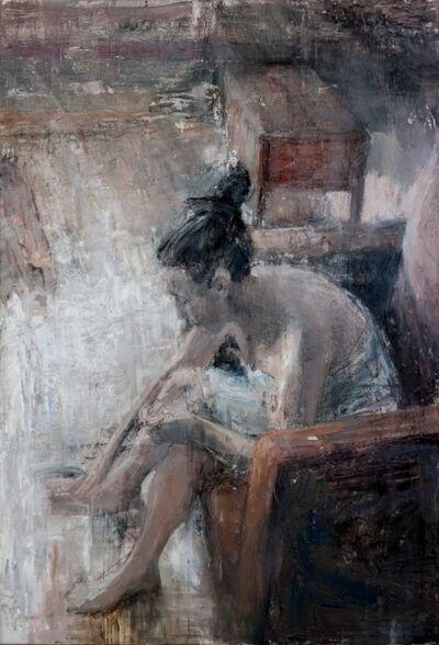 Tibor Simon-Mazula, 'She arrived home', 2018