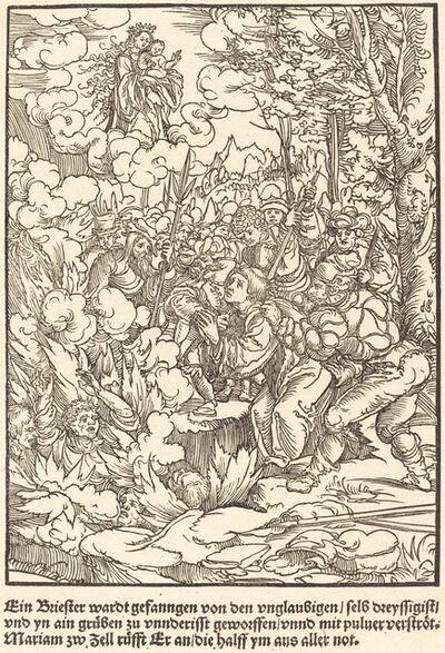Master of the Miracles of Mariazell, 'Ein Briester wardt gefanngen ...', ca. 1503