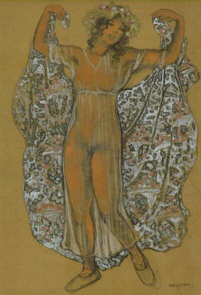 George Manzana-Pissarro, 'Oriental Dancer', ca. 1910
