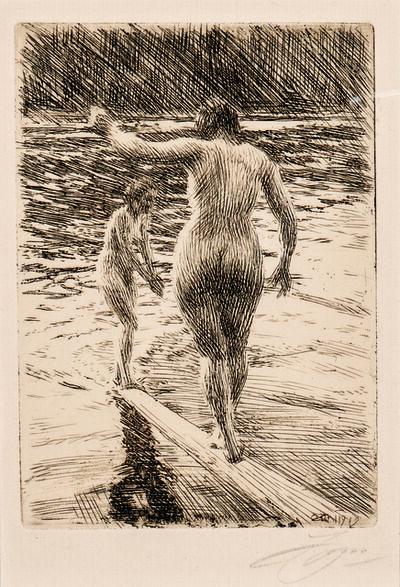 Anders Leonard Zorn, 'Balance', 1919
