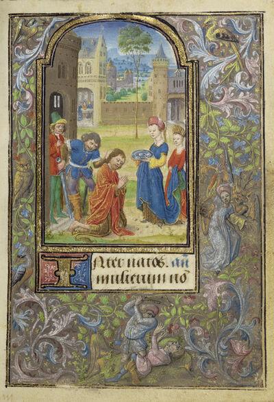 Lievan van Lathem, 'The Beheading of Saint John the Baptist', 1469