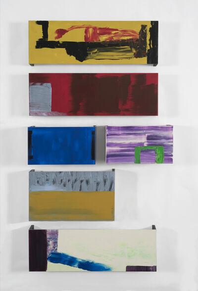 Pedro Calapez, 'Overseas 02', 2015