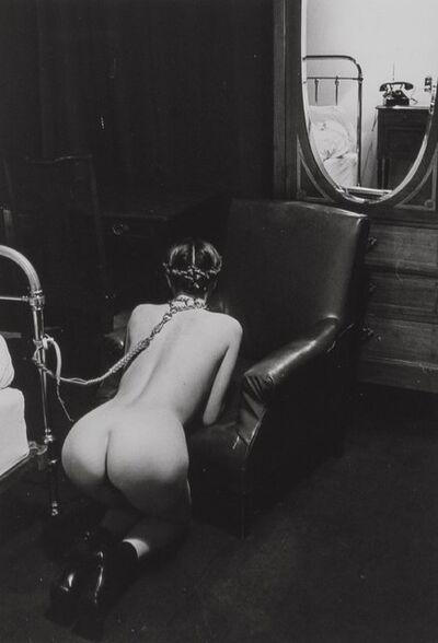 Helmut Newton, 'Hotel Room, Place de la République, Paris', 1976-printed later