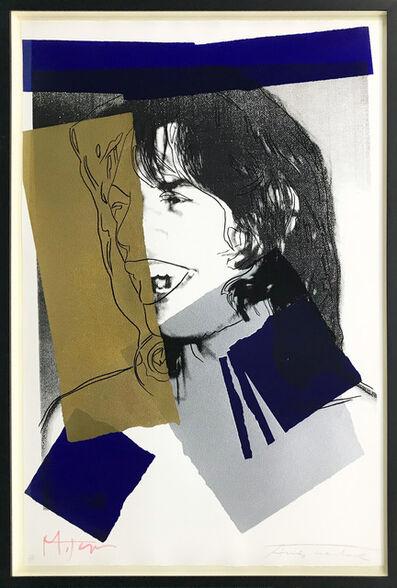 Andy Warhol, 'MICK JAGGER 142', 1975