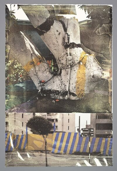 Robert Rauschenberg, 'Fashion (Tribute 21)', 1994