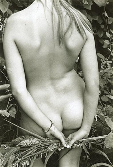 Eva Rubinstein, 'Nude with Grasses', ca. 1974