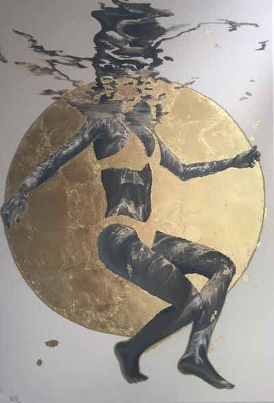 Amanda Arrou-tea, 'Moon mermaid', 2019