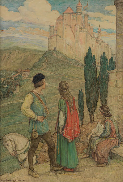 Alice Barber Stephens, 'Approaching the Castle', 1925