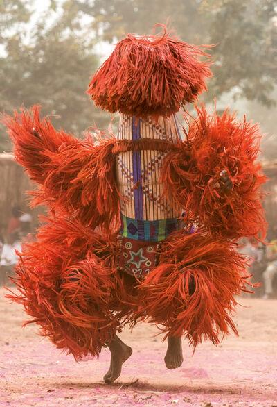 Carol Beckwith and Angela Fisher, 'Raffia Harvest Mask, Burkina Faso', 2014