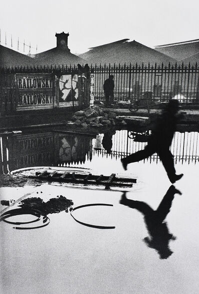 Henri Cartier-Bresson, 'Behind the Gare Saint Lazare', 1932-printed later