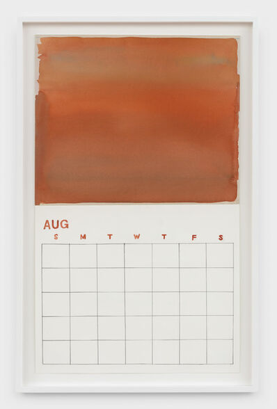 Roger White, 'Blank August', 2019
