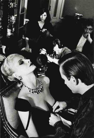 Helmut Newton, 'Woman being filmed, Paris', 1980