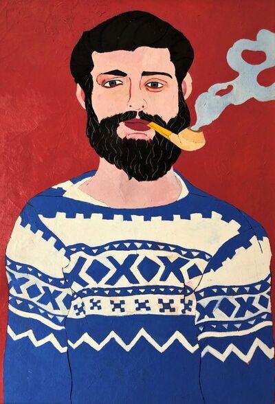 Daniel Brennan, 'Man with Pipe', 1960