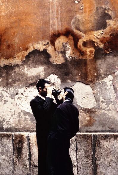 Stephanie Pfriender Stylander, 'Walled, Harper's Bazaar Uomo, Milan', 1992