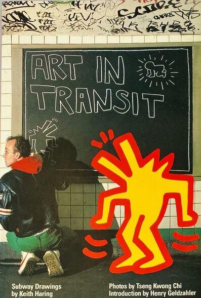 Keith Haring, 'Keith Haring Tseng Kwong Chi Art In Transit book 1984', 1984