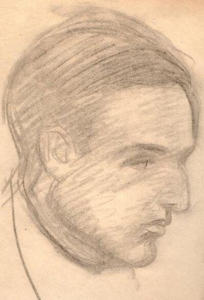 Théophile Alexandre Steinlen, 'Portrait d'un homme', ca. 1915