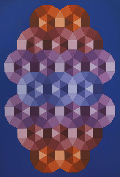 Victor Vasarely, 'Tizenne - 2', 1986