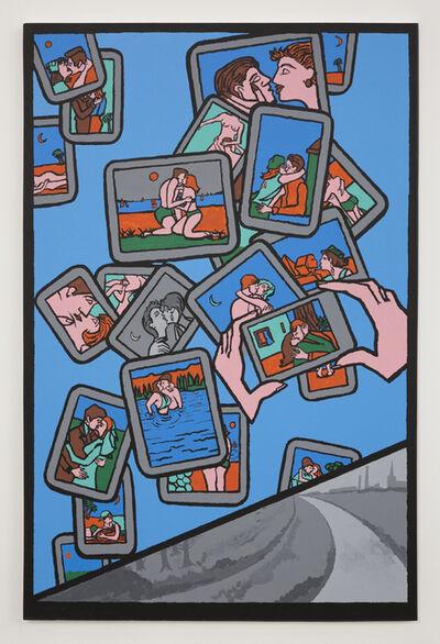 Derek Boshier, 'Digital Kiss', 2011