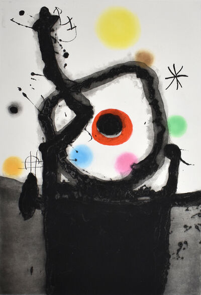 Joan Miró, 'The Rebel   Le Rebelle', 1967