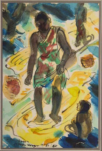 Ramkinkar Baij, 'Untitled ', 1950