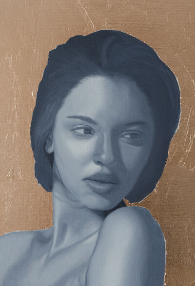 Patrick Le Borgne, 'Portrait de Jeune Femme', 2018