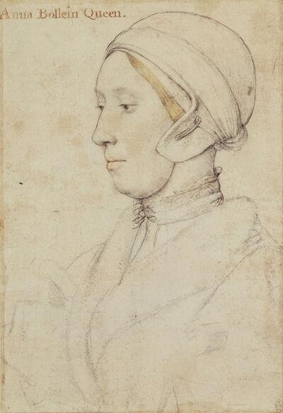 Hans Holbein the Younger, 'Queen Anne Boleyn (c.1500-1536)', ca. 1533-1536