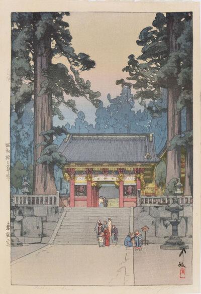 Yoshida Hiroshi, 'Toshogu Shrine', 1937