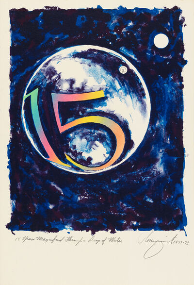 James Rosenquist, '15 Years Magnified Through a Drop of Water', 1973