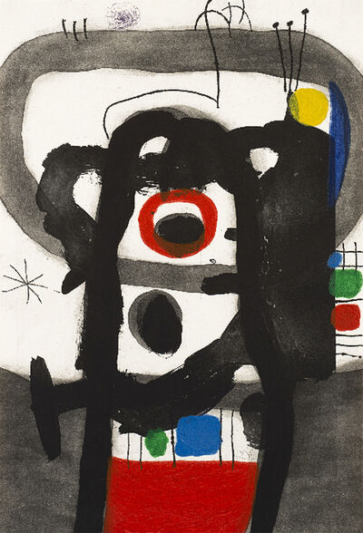 Joan Miró, 'L'Enragé (The Enraged)', 1967