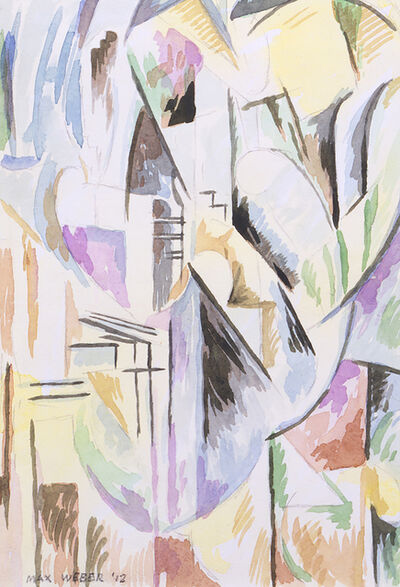Max Weber, 'New York Abstraction', 1912